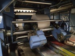 Newspaper web press
