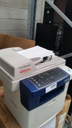 3#2602 B & W Xerox WorkCentre 3550 printer Xerox