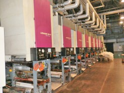 Lemanic 65-H Gravure Printing Press with DR55S Bobst