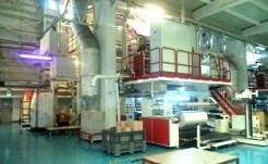 MK.2 EXTRUSION LINE FOR THE PRODUCTION OF 3-LAYER BLOWN FILM